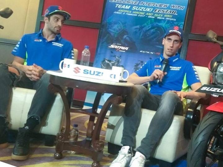 MotoGP 2018: Kegiatan Iannone dan Rins Di Sentul Hari Ini | Portal Sepeda Motor dan Seluruh Aspeknya