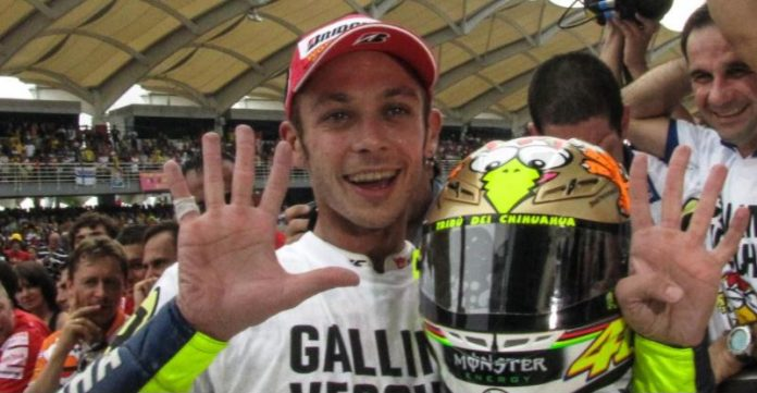 Valentino Rossi Qatar 2018
