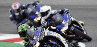 Race YZF-R3 di Sirkuit Misano Italia