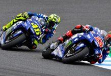 25 Vinales dan Rossi Jepang 2018