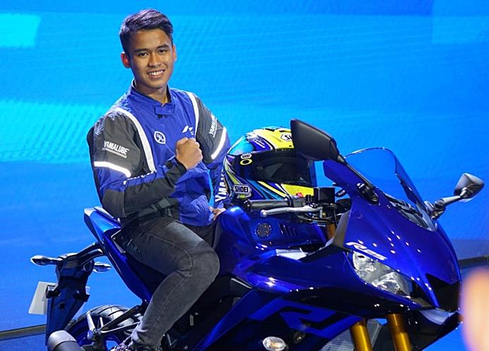 Galang Hendra, pemain dunia super sport 300 dari Yamaha Indonesia