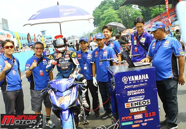 Wahyu Aji Trilaksana (Yamaha Racing Indonesia), UB150 Race 1