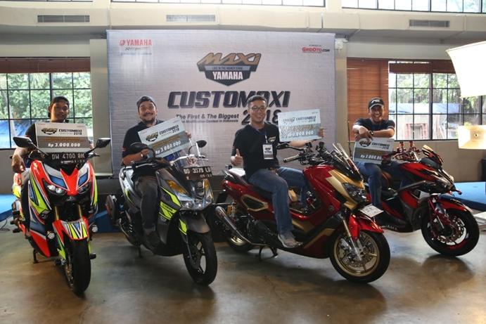Pemenang semifinal CustoMAXI Makassar 2018