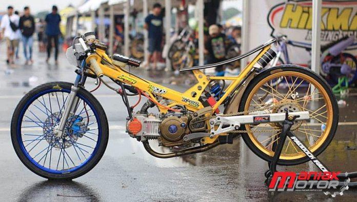 Modifikasi Mesin Drag Bike Bebek 130 4t Tu Ivan Bangun Aben Racing Monosok Traxx D Portal Sepeda Motor Dan Seluruh Aspeknya