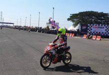 Rafid Topan di One Prix SBY 2019