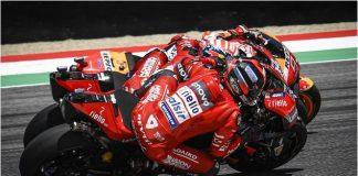 Dua Ducati Lawan Marc Marquez