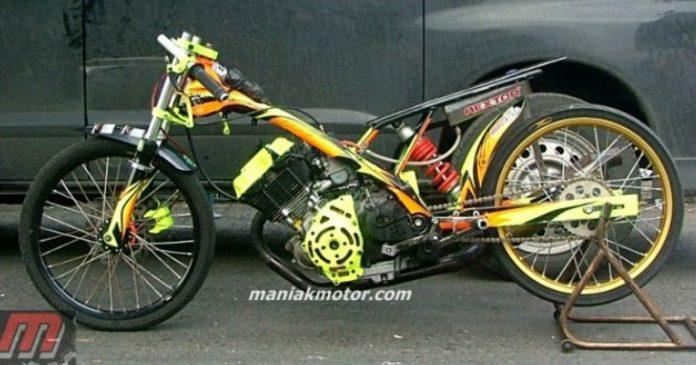 Foto Motor Satria Fu Modifikasi Terbaik Gambar Honda Cb Sepeda