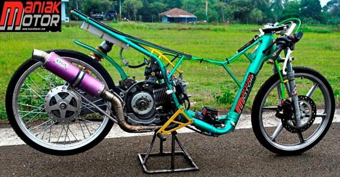 Modifikasi Yamaha Mio Drag Bike Di Matik 200 Tembus 7 589 Detik