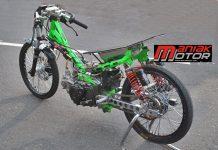 Modifikasi Jupiter Z Drag Bike