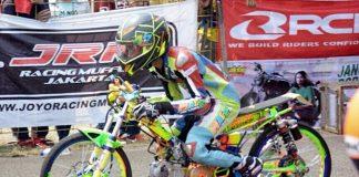 Gerry Percil, Drag bike, Cicangkal