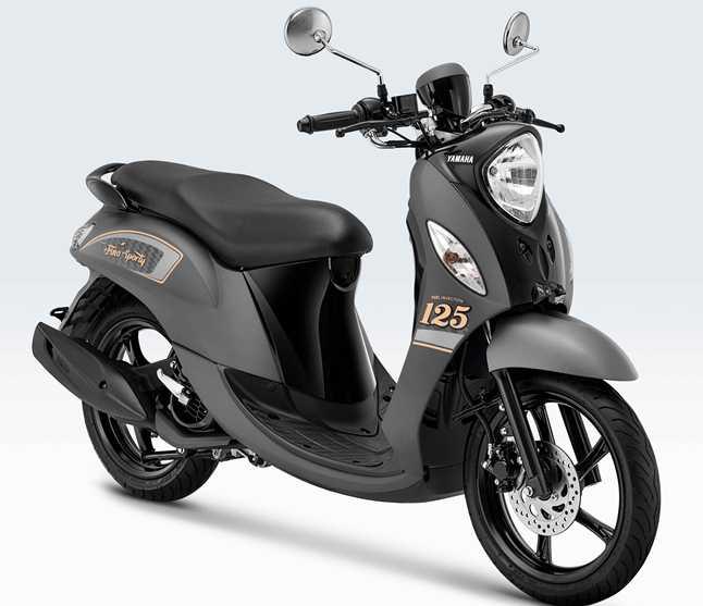 Awal Tahun 2021, Yamaha Fino 125 Sporty Tampil Dengan ...